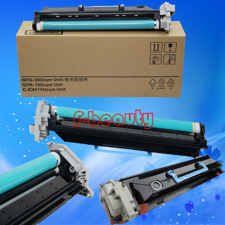 High quality copier drum unit compatible for canon G28 iR2016 2020 2116 2318 2320 2420 2422 GPR18 CEXV14 100% new original copier toner compatible for canon npg 28 ir2016 2018 2318 2320 2020 2420
