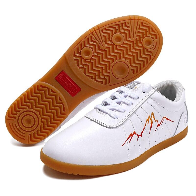 купить Mountain Motion Really Cowhide Tai Shoe Male Soft Cowhide Ox Tendon Bottom A Practice Shoe Woman Taiji Boxing Shoe Croquet Shoe по цене 6119.1 рублей