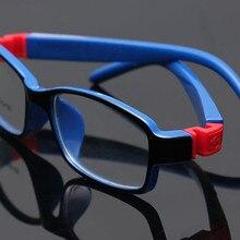 8813 детские очки, резиновые очки, детские оправы, оптические очки для детей, без винтов, безопасные TR, пищевые линзы для близорукости
