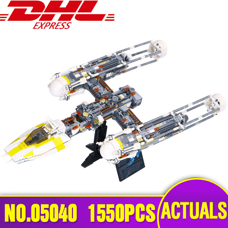 LEPIN 05040 Star Series Wars Y Attack Starfighter wing Building Block Assembled Brick Compatible Legoing 10134 Children Toy