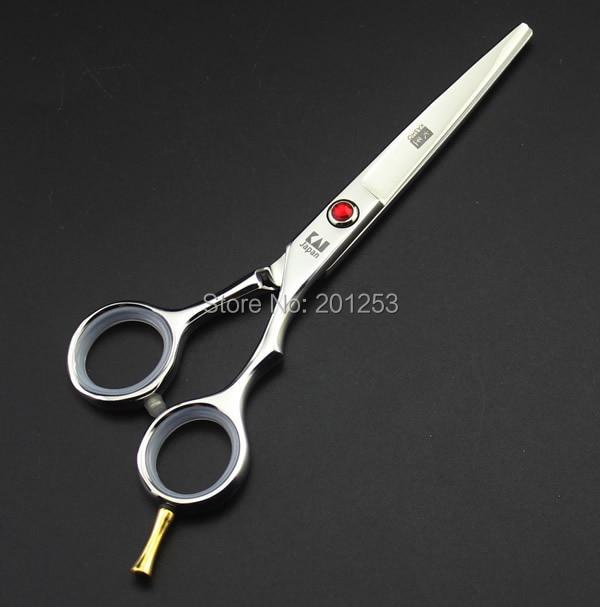 """5.5 """"Gërshërë prerëse flokësh japoneze Kasho me gërshërë profesionale profesionale të një bishti për berberë Vegla flokësh sallone LZS0193"""