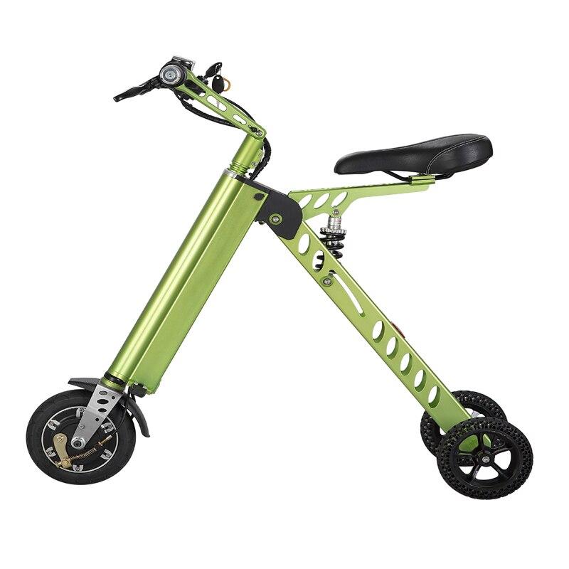 3 колеса hoverboard 8 дюймов складной скутер ультра светильник портативный скутер новый складной hover board 3 колеса Smart Balance скутер