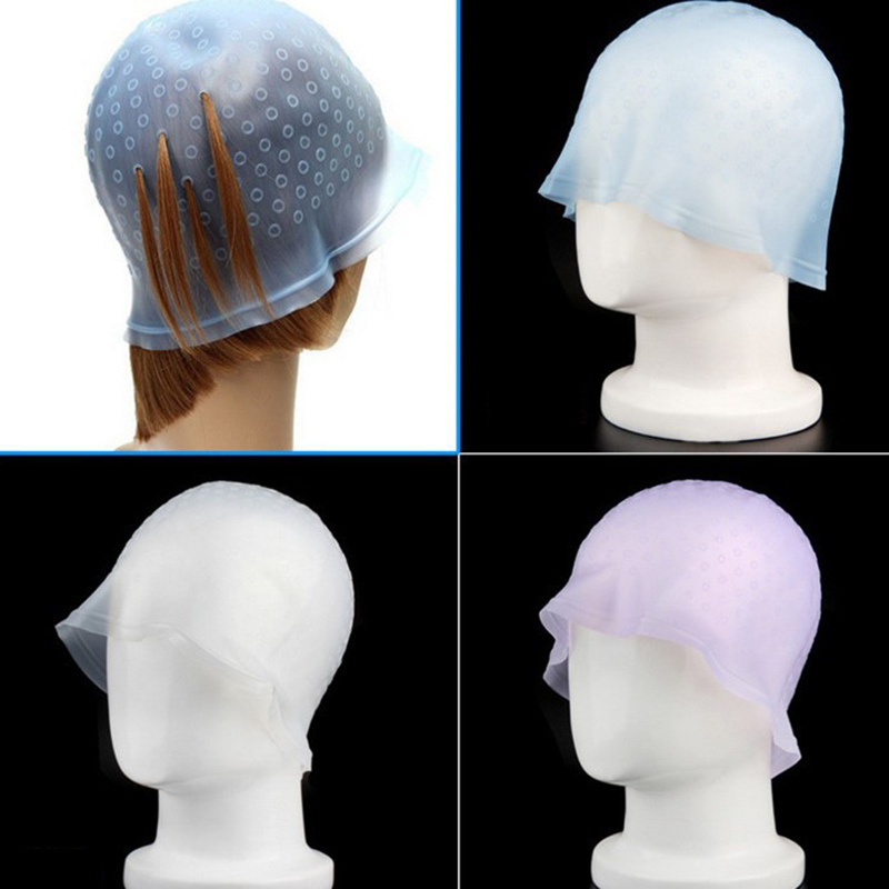 Professional Reusable Salon Hair Color Coloring Highlighting Dye Cap for Hair Extension Styling Tools Barber Beauty Hair Salon 2