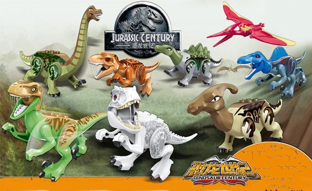 1pcs jurassic world dinosaur spinosaurus bricks mini block building blocks baby toys for kids - Lego dinosaurs spinosaurus ...