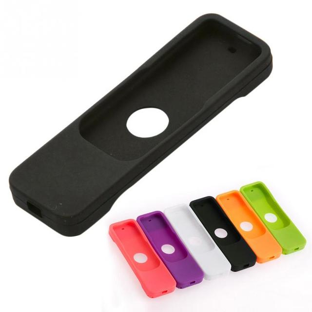 Colorful Silicone Protective Case Cover Skin for Apple TV 4 Remote Control Waterproof Dust Cover