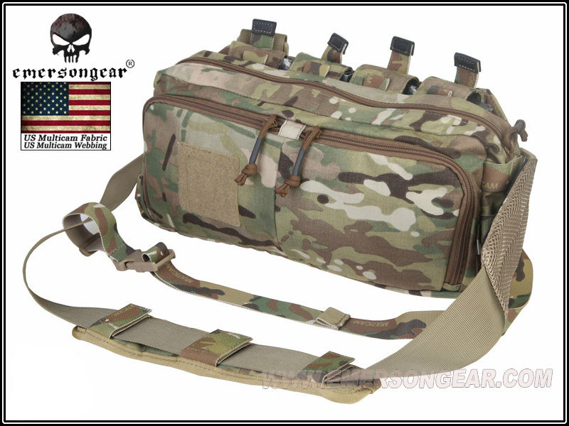 ФОТО Emersongear Multi-function Tactical Sling Pack RECON Emerson Waist Bag Combat Gear Paintball Hunting Accessories EM5802 ^