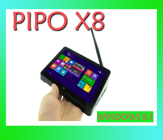 "Pipo origine X8 Windows8.1 Quad Core Android 4.4 Dual Boot Intel Z3736F 7 "" Tablet HDMI 2 G / 32 G 802.11b / G / n LAN BT4.0 Mini PC"
