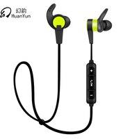 Huan Yun Headset Earphones Wireless Bluetooth Stereo Headphones Ear Hook With Mic Waterproof Sport Running For