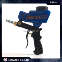 25 Pcs Wholesale LEMATEC Gravity Feed Portable Abrasive Sand Blaster Gun With Spare Blaster Tip Hand