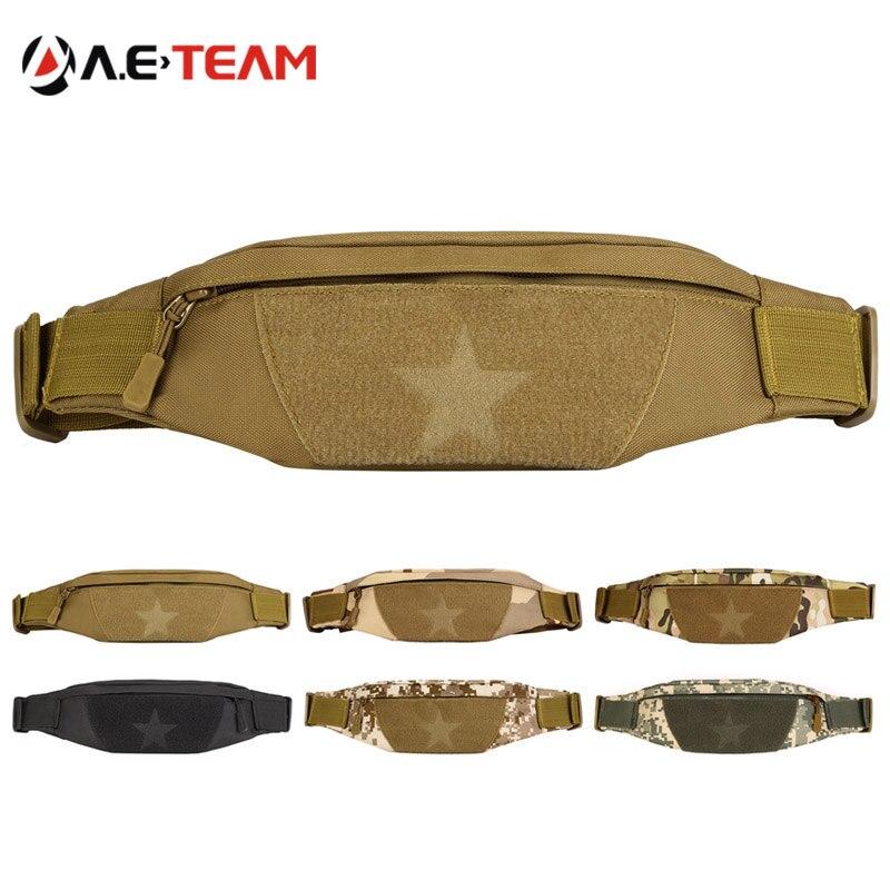 imágenes para Universal hombres mujeres running hip cinturón de cintura bolsa molle táctico militar impermeable mochilas de senderismo viajes deporte gimnasio phone case