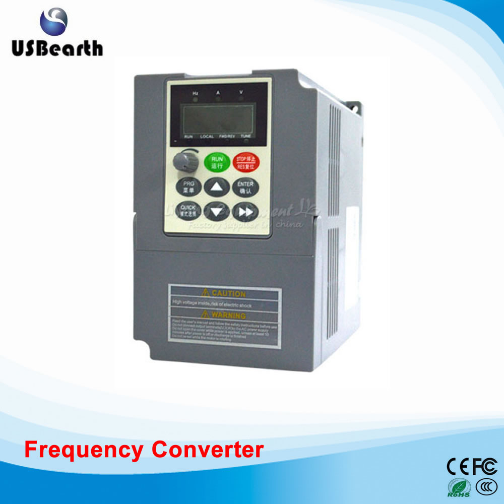 CNC Machine Parts High-performance General Purpose Inverter 0.4KW-5.5KW 220V Vector Frequency Converters Modular Machine zvs high frequency induction heating 1800w high frequency machine without tap zvs