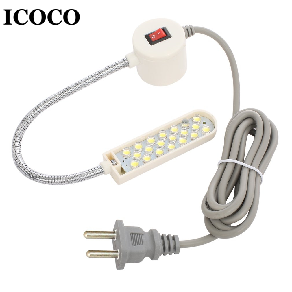 ICOCO Portable 10 LED Sewing Machine Light Work Light