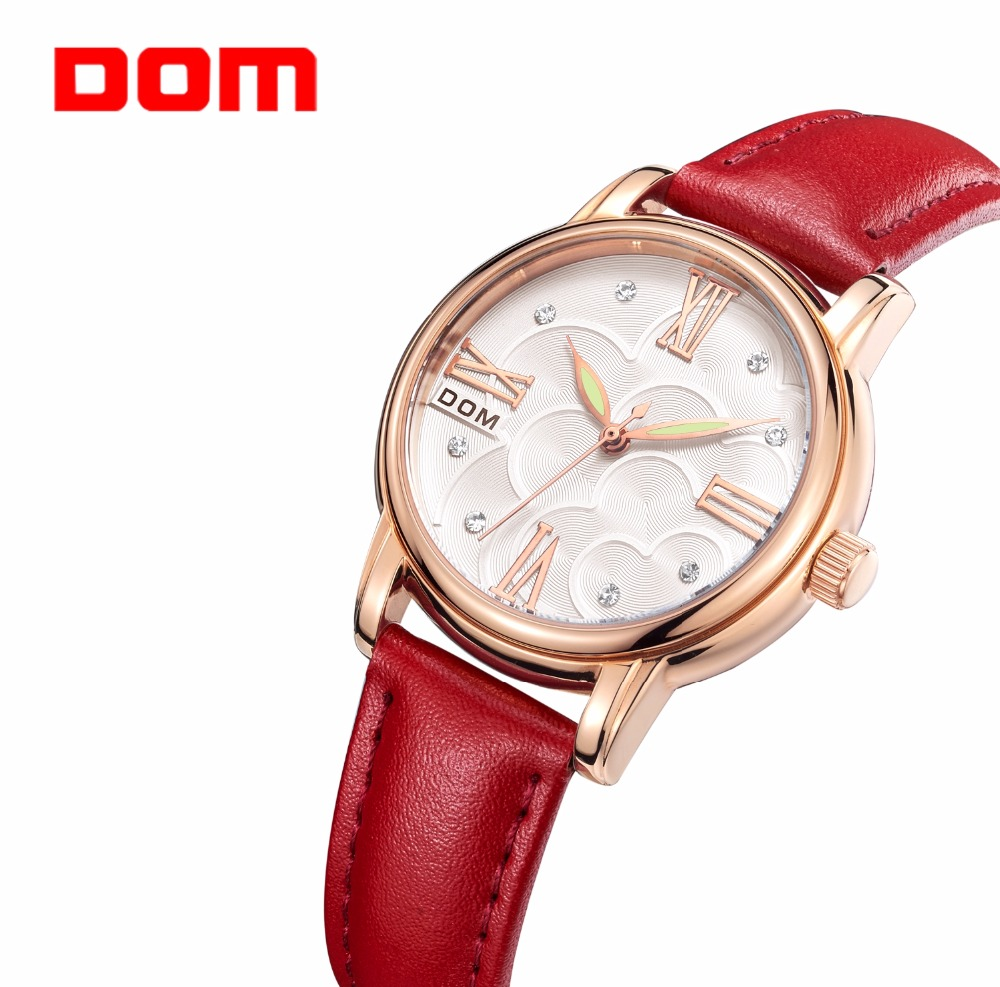 Luxury brand women watch famous fashion casual ladies wristwatches quartz watches for women business clock Relogio Feminino dom women watches women top famous brand luxury casual quartz watch female ladies watches women wristwatches t 576 1m
