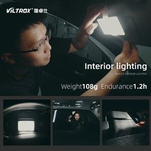 Image 5 - Viltrox RB08 Bi Kleur 2500K 8500K Mini Video Led Light Draagbare Vullen Licht Ingebouwde batterij Voor Telefoon Camera Schieten Studio