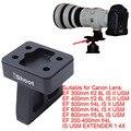 Lens Collar Foot Tripod Mount Ring Stand Base for Canon EF 200-400mm f/4L IS USM EXTENDER 1.4X, EF 400mm f/2.8L IS II USM