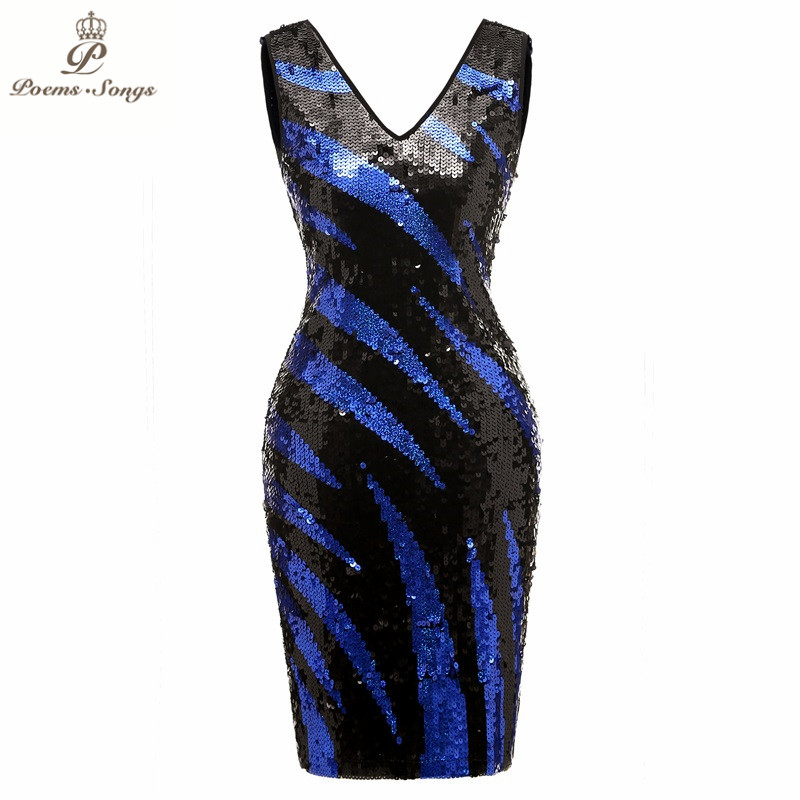 Poems Songs 2019 Double-V  Short dress Evening Dress prom gowns Formal Party dress vestido de festa  Vintage robe