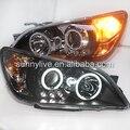 Para Lexus IS200 Altezza Toyota LED Cabeça Lâmpadas com Lente Do Projetor 2006-2010 SN