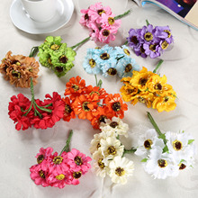 72Pcs 12Bundles  Artificial Camellia Flower Flower Head bract Simulation Flowers Decorative Flowers Home Decorations For Wedding home decorative high simulation ombre artificial flowers