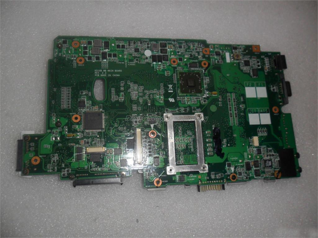 45 days Warranty  laptop Motherboard for Asus K51AB with integrated graphics card DDR2 rev2.3 100% tested asus g31 g31mx k motherboard supports ddr2 775 pin integrated small plate