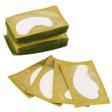50PCS Paper Patches Under Eye Pads Lash Eyelash Extension Paper Tips Makeup Removeral for Eyes Make up Tool