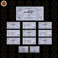 WR Festival Souvenir Gifts Iraq Silver Banknote Unique Gifts Iraq 24 999.9 Gold Foil World Paper Money Value Collection