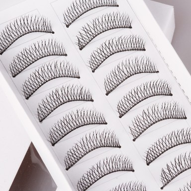 False Eyelashes Fast Ship Way Crisscross Diy False Eyelashes Handmade Lashes Fashion Lady Balck Eyelash Artificial Eyewinker As Makeup Product. Back To Search Resultsbeauty & Health