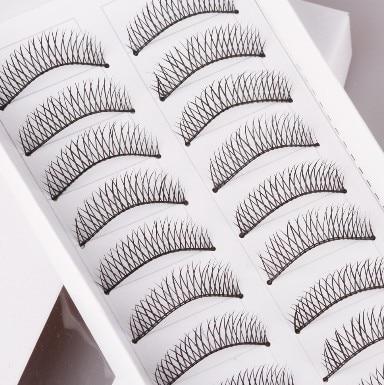 Wholesale Crisscross DIY False eyelashes handmade Lashes fashion lady balck eyelash artificial eyewinker as Makeup product.
