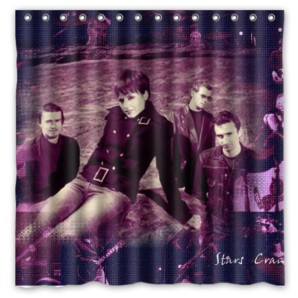 The Cranberries Pattern Creative Bath Shower Curtains Bathroom ...
