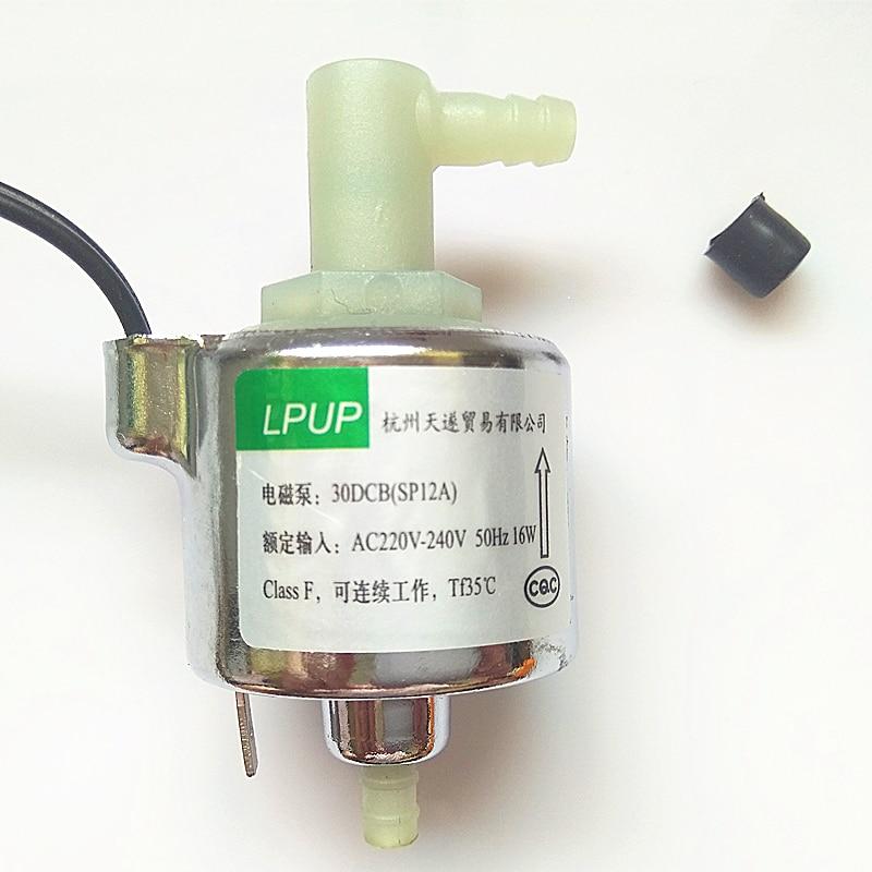 Steam mop micro-magnetic pump electromagnetic pump model 30DSB (SP12A) AC220V-240v-50Hz voltage power 16W
