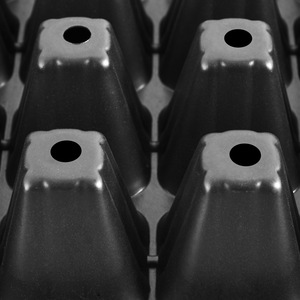 Image 5 - 10 個 32/72/105/128 細胞播種プラスチック保育園トレイ Maceteros 盆栽植木鉢緑多肉植物ポット種子ボックス