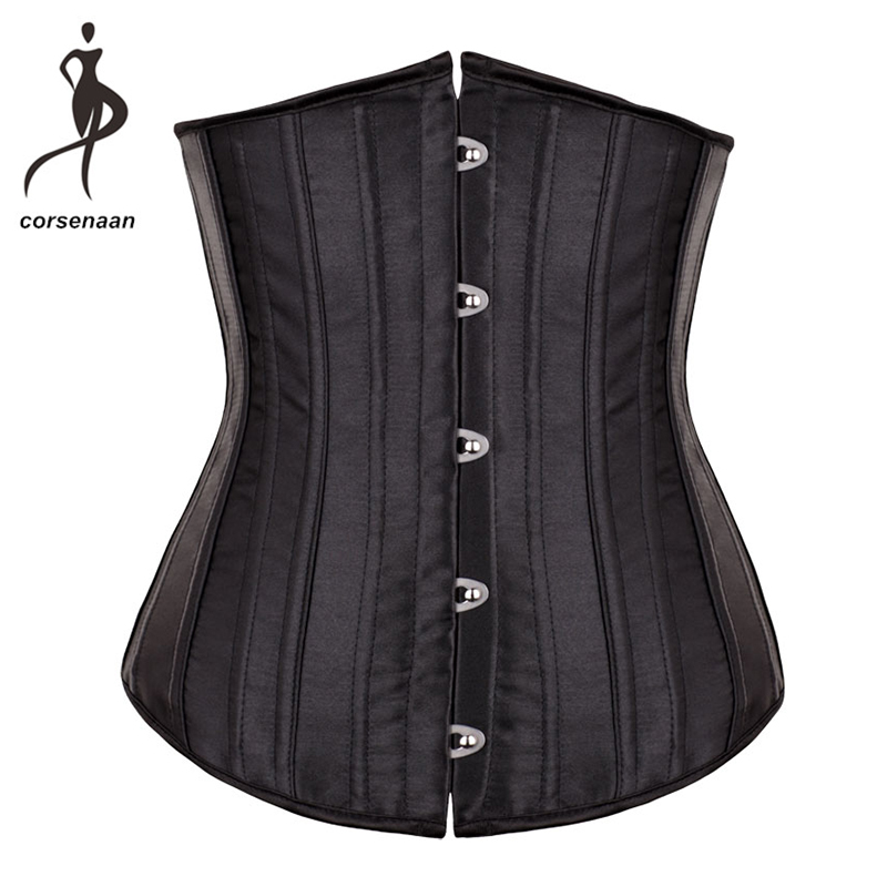 Hot Sale Waist Cincher   Corset   Outfit Wearing Costumes Slimming Waist Corests With 26 Spiral Steel Bone For Weight Loss 8001#