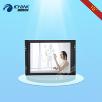 ZK100TC V59/10 inch 800x600 HDMI VGA Metal Case Embedded Open Frame Wall mounted PC Industrial Touch Monitor LCD Screen Display