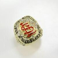 Replica Newest Design 2006 Louis Cardinals Major League Baseball Championship Ring For Fans