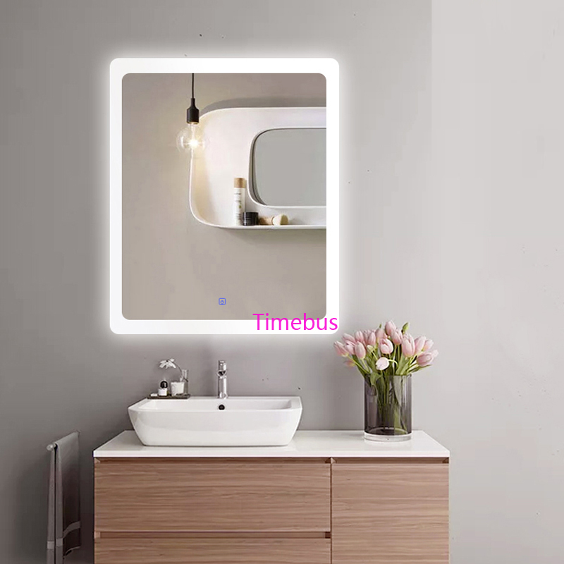 Bathroom Intelligent led Mirror Wall Lamp Fog-proof Toilet Bathroom led Mirror Beauty Cosmetology Salon Wall Mirror With Lights 5