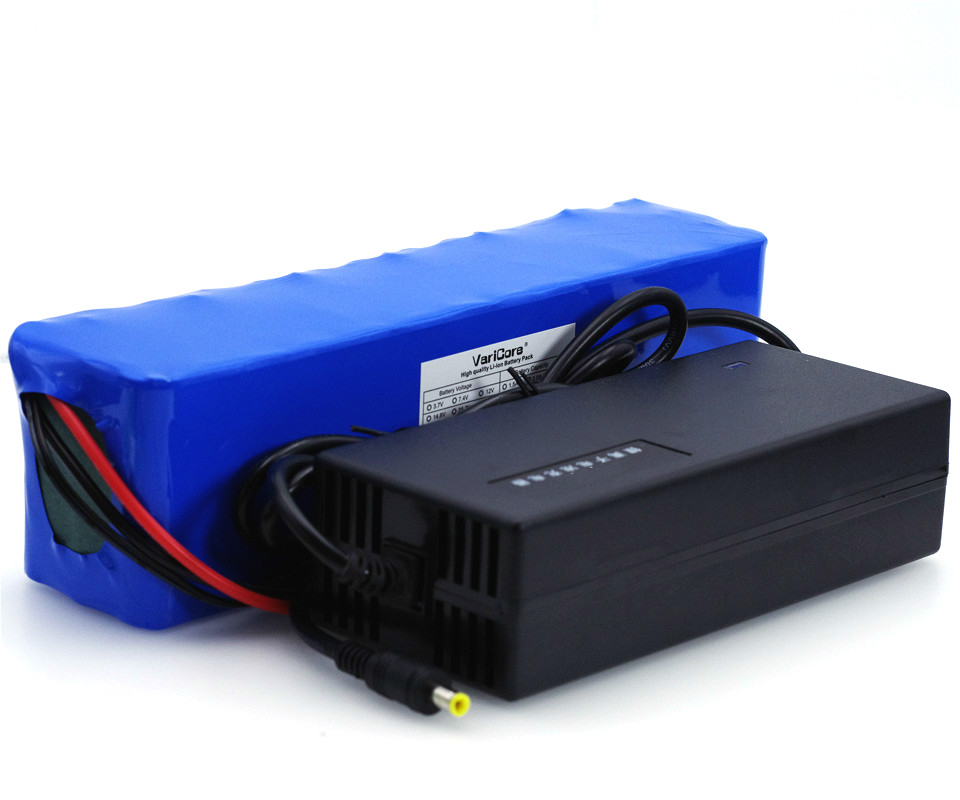 VariCore 13s3p High Power 18650 Battery 48V 6ah Electric Vehicle Electric Motorcycle DIY Battery 48v BMS Protection + Charger 2A 13s 48v electric vehicle power lithium battery protection plate bms belt equalization charging and discharging current 18a