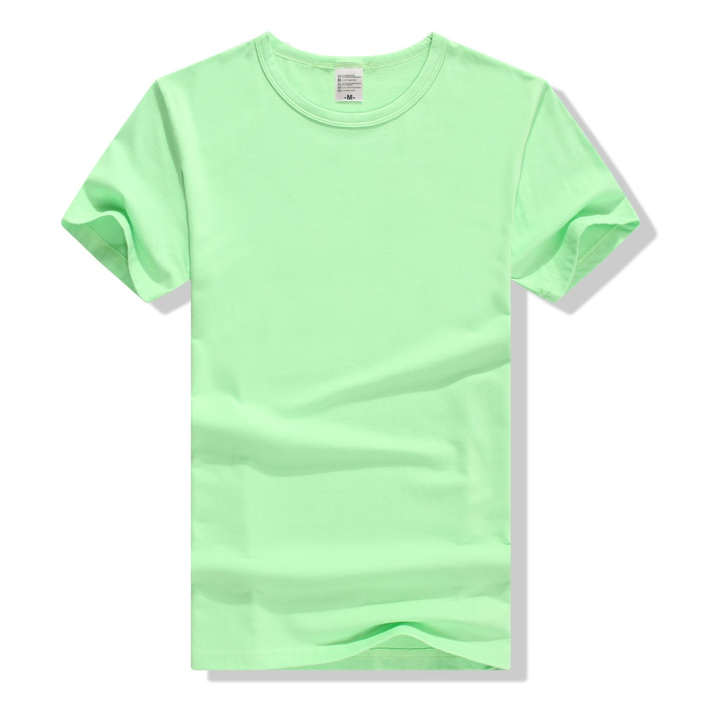 4b 2018 summer new women s slim body slim round neck short sleeved cotton T shirt