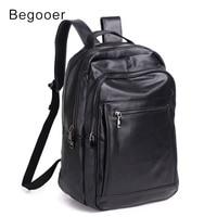 Male Backpacks Genuine Lether Laptop Backpack Men Travel Bagpack Cow leather Waterproof Backpack High Quality Men School Bag