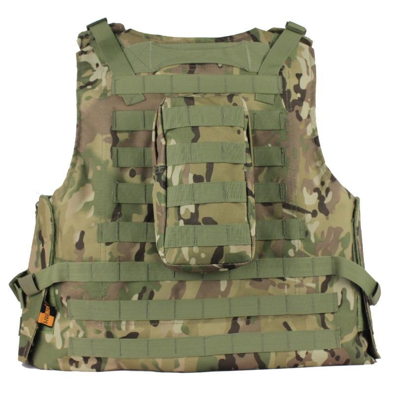 Ushtria Vest Molle Taktike Vest tifozët Ushtria jelekë amfibë - Veshje sportive dhe aksesorë sportive - Foto 2