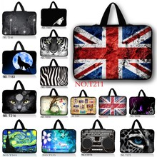 Flag 9.7 10 12 13 14 15 17″ Tablet Sleeve Case Mini PC Laptop Bag 10.1 12.1 13.3 15.4 15.6 Computer Handbag Soft Protector Cover