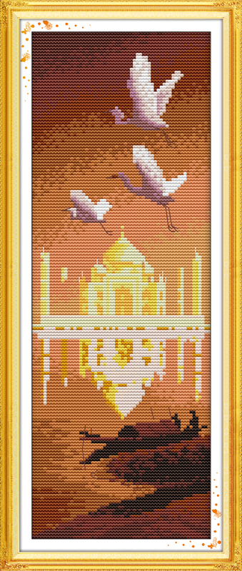 New Designed Needlework Embroidery Kit Cross Stitch Diy