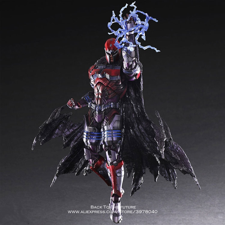 Disney Marvel X Men Magneto 25cm Action Figure Anime Mini doll Decoration PVC Collection Figurine Toy