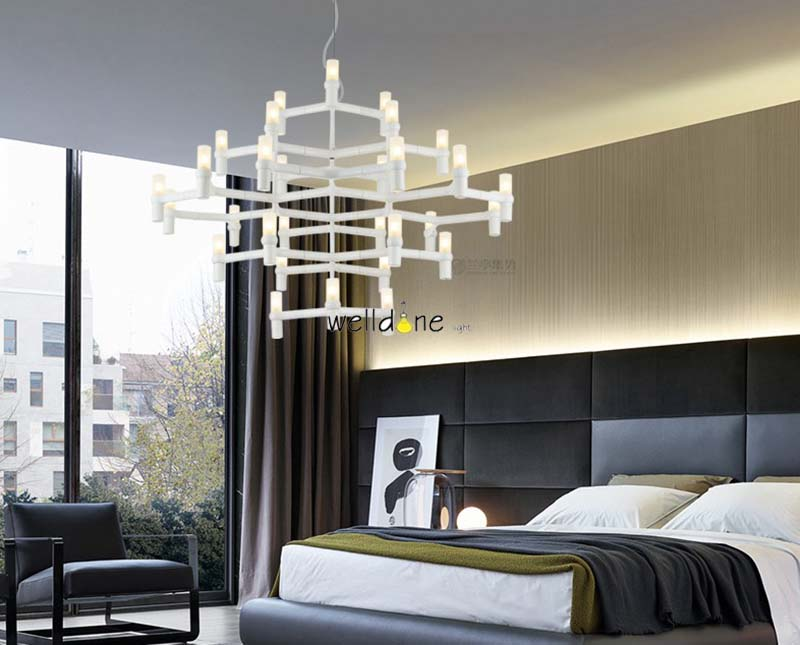 Corona nemo corona minori lampadario arte postmoderna villa scale