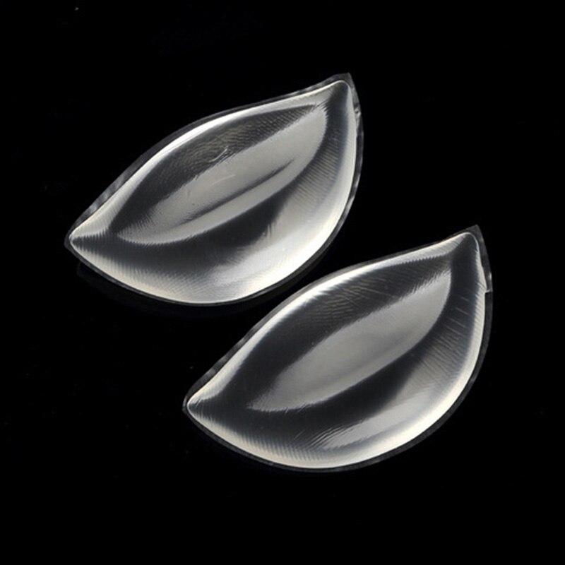 Shemale Silicone Bra Inserts Invisible Pads Brystforme Kvinner Push - Helsevesen - Bilde 2