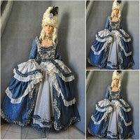 Customer made Freeship! Cosplay Renaissance Dress Vintage Costumes Victorian Dress Steampunk dress Gothic Halloween Dress C 580