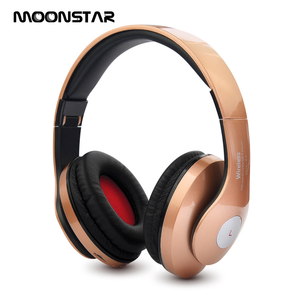 Hot Stereo Foldable Headphones <font><b>casque</b></font> <font><b>Bluetooth</b></font> <font><b>sans</b></font> <font><b>fil</b></font> sport with HD Mic Wireless Earphones for xiaomi mp3 Support SD Card