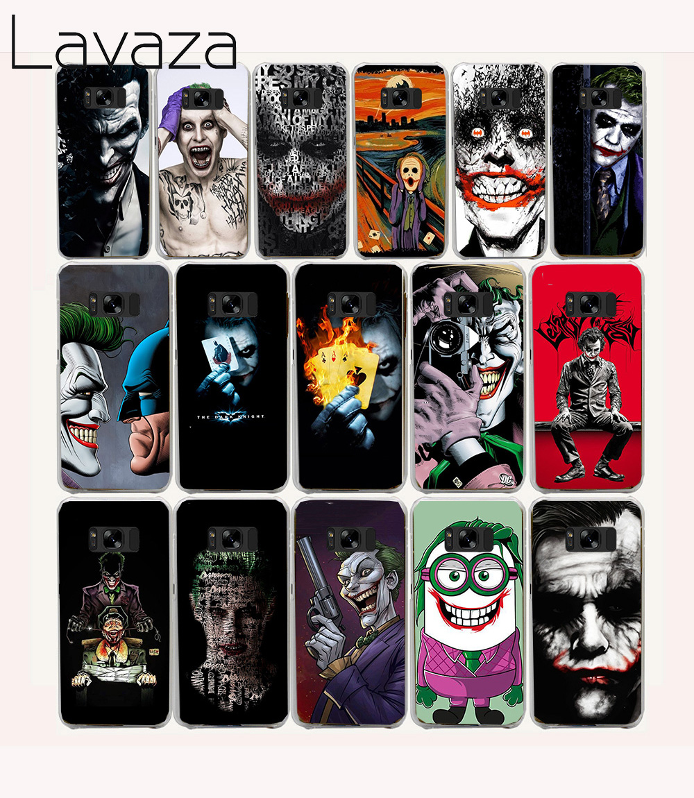 Lavaza 39O Joker Batman The Killing Joke Hard Case for Samsung Galaxy S6 S7 Edge S8 S9 Plus S2 S3 S4 S5 Mini Cover