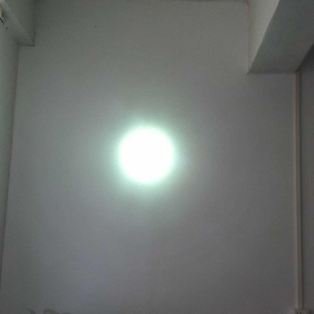 12V 10W LAMPU LED Emergency pencarian Cahaya Super Terang LED Lampu Genggam Lampu Sorot Untuk Berburu Memancing Berperahu 1200LM 150MM Reflektor