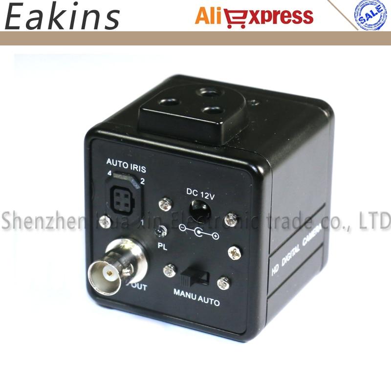 все цены на Auto IRIS 800TVL 1/3 CCD Digital Industry Microscope Camera CS C-Mount Lens Support BNC Color Output For SMD BGA PCB Soldering онлайн