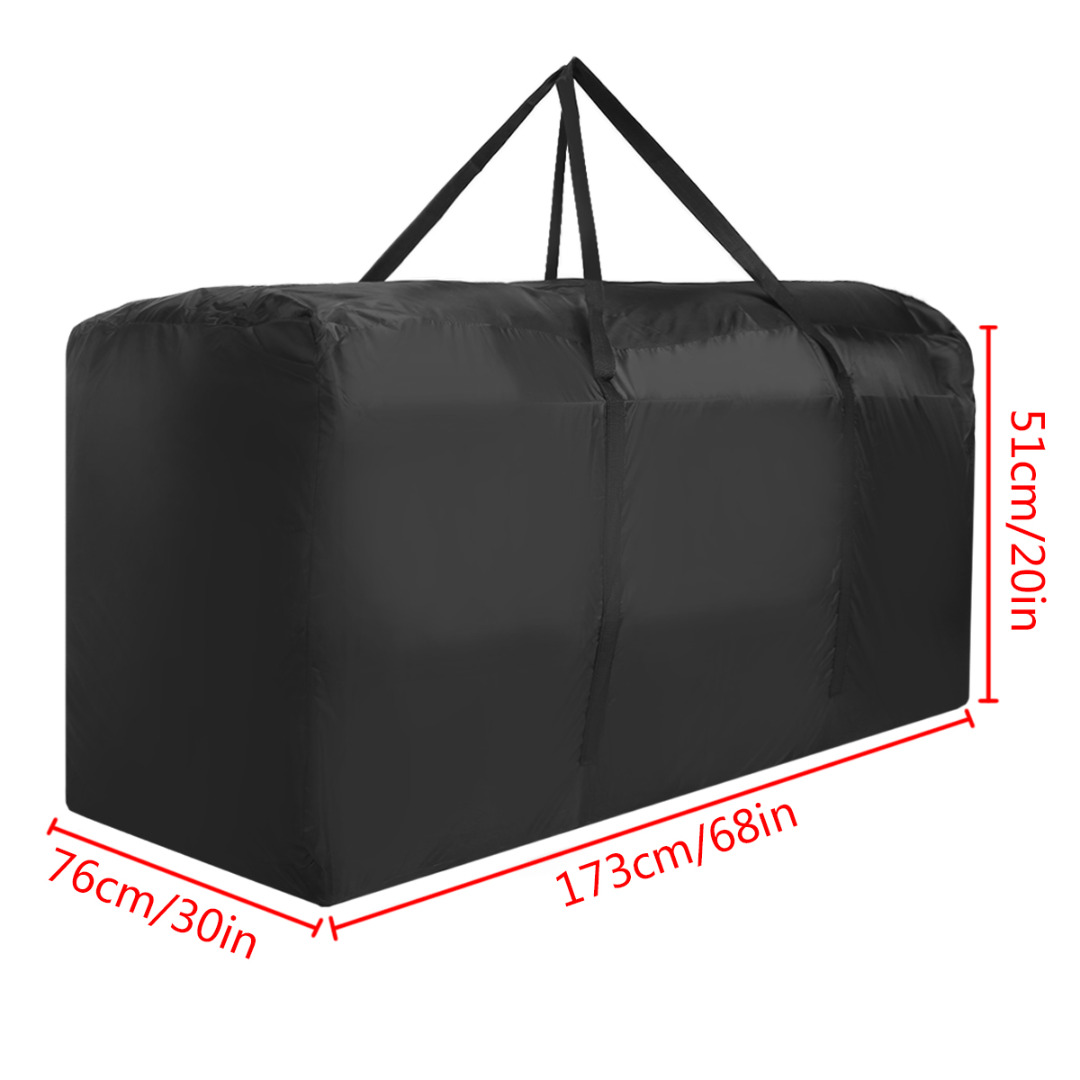 Mayitr Garden Furniture Storage Bag Cushions Upholstered Seat Protective Cover Home Waterproof Bags