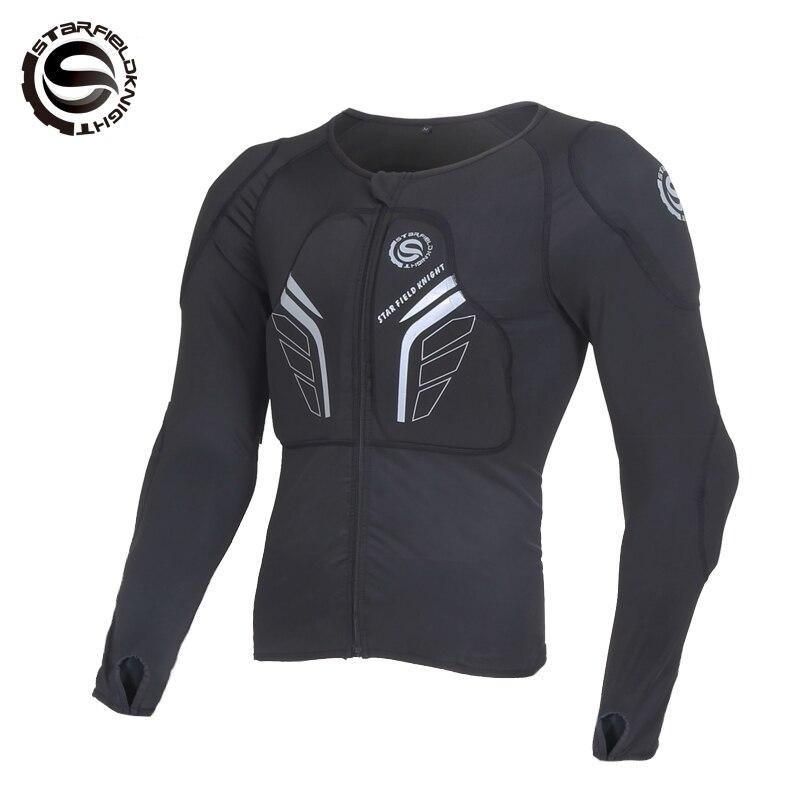 Livraison gratuite 2018 hommes Auto moto course veste tout-terrain Motocross équipement de protection armure protecteur de corps Sportswear